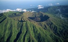 One of the most investigated volcanoes in the world...
