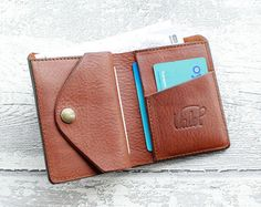 eca74c2ed Italian Leather Wallet Mens CHOCOLATE by ValePLondonLeather Carpeta De  Cuero, Billeteras, Bolsos, Tarjetero
