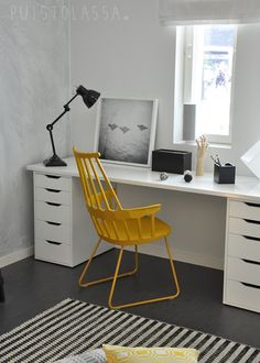 Via Puistolassa | Home Office | Black White Yellow