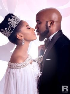 When Love, Business And Mind Conquers — Tush Magazine Wedding Couples, Wedding Day, Natural Hair Wedding, Tush Magazine, 3rd Wedding Anniversary, Natural Wedding Hairstyles, Black Bride, American Wedding, Celebrity Couples