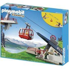 Playmobil 5426 Téléphérique - Achat / Vente UNIVERS MINIATURE PLAYMOBIL 5426 - Cdiscount Soldes