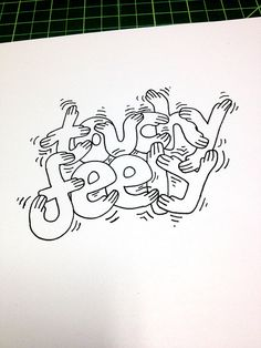 Touchy-Feely Handwritten typography 10.13.14 photo