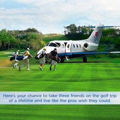 Michelob's ULTRA Foursome Golf Trip Sweepstakes