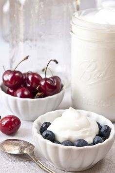 Healthy Homemade Greek Yogurt (fat-free)    Recipe :  Serves: 1 quart  Ingredients  2 quarts fat-free milk (may substitute with your favorite milk)  2-3 teaspoons yogurt (commercial or your own homemade)