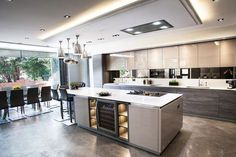 Most Simple Tips: Contemporary Kitchen Shelves contemporary interior tubs. Kitchen Shop, Home Decor Kitchen, Kitchen Interior, Kitchen Ideas, Kitchen Trends, Diy Kitchen, Open Plan Kitchen Living Room, Kitchen Dining Living, Küchen Design