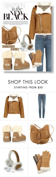 """""""Work Hard, Play Hard: Finals Season"""" by aleks-g ❤ liked on Polyvore featuring Paige Denim, UGG and Lucky Brand"""