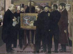 Maurice Denis, Hommage à Cézanne, Grand Palais (Musée d'Orsay) 1900