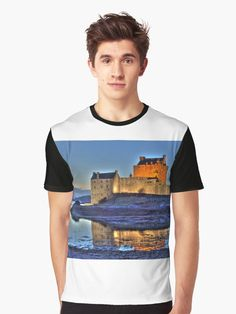 Over 40 photo gifts of Eilean Donan Castle Eilean Donan, Castle Scotland, Hdr, Tshirt Colors, Heather Grey, Classic T Shirts, Shirt Designs, Photo Gifts, Artists