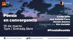 """Regresa """"Poesía Reunida"""" para celebrar La Palabra en el Centro Cultural Chacao http://crestametalica.com/regresa-poesia-reunida-para-celebrar-la-palabra-en-el-centro-cultural-chacao/ vía @crestametalica"""