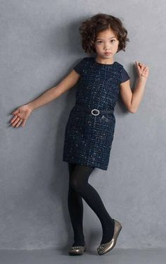 Biscotti Luxe Life Navy Belted Dress  *Preorder*