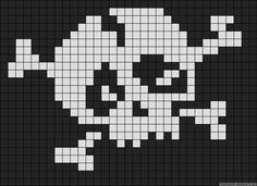 For joy Cross Stitch Skull, Tiny Cross Stitch, Cross Stitch Kits, Cross Stitch Charts, Cross Stitch Designs, Cross Stitch Patterns, Quilt Patterns, Crochet Skull, Pixel Crochet