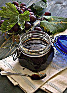 CIBO VINO E PAROLE ...: Mosto cotto d'uva- Cooked grape must
