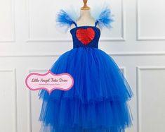 Items similar to Evie Dress - Descendants Evie Dress - Evie Dress with Capelet - Evie Costume - Evie Descendants Costume - Royal Blue Costume on Etsy Evie Descendants, Descendants Costumes, Evie Costume, Blue Costumes, Capelet, Royal Blue, Cinderella, Tulle, Disney Princess