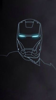 Another Iron Man iPhone 5 wallpaper.