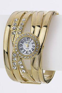 Gorgeous Timepiece!! You Look Beautiful, Make It Yourself, Unique, How To Make, Fashion, Moda, Fashion Styles, Fasion
