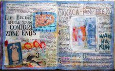 Judy Wise's art journals so inspire me. I love her work! http://judywise.blogspot.com/