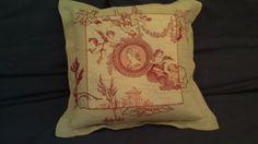 Embroyded cushion