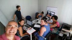Reunión de formación y trabajo, como nos dedicamos a lo que nos gusta entonces disfrutamos miblog.cristobalamo.com