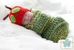 Baby Things I Want: Baby Hungry Caterpillar Swaddle