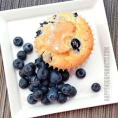 Blueberry Muffins with Bob's Red Mill Gluten Free Flour