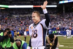 Peyton Manning Makes Call to Retire---Very bittersweet.  It is time for retirement; however, he will be missed on the field.