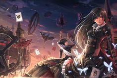 Dark Alice in Wonderland | TheSon4eto=:3 Dark!Alice in Wonderland