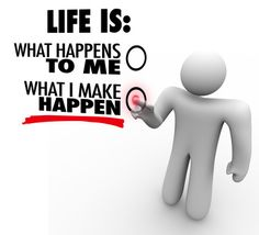Life Upgrade Tip #260: Your experience is determined by your internal environment. Take charge.