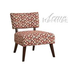 ACME 59074 Able Accent Chair  Able #Accent #Chair with Oval Pattern, featuring an elegant, sleek contemporary style with multi color oval pattern fabric, perfectly suited for any #living #room environment. Also featuring a wood leg frame.