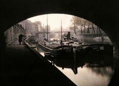 The Cite, under the bridges.