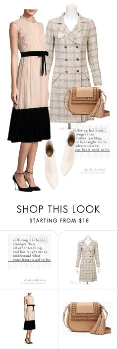 """""""dress"""" by masayuki4499 ❤ liked on Polyvore featuring Chanel, Kate Spade and Gianvito Rossi"""