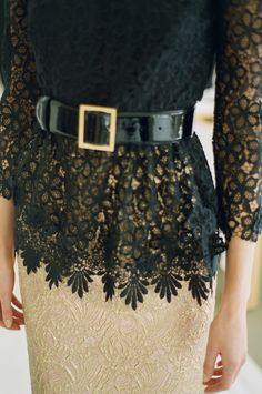 Lace finishes.
