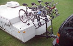 Pop Up Camper Bike Rack - PPL Motor Homes