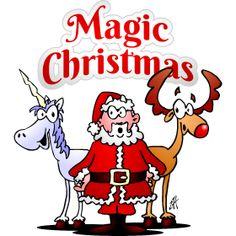 Magic Christmas with a unicorn fc T-Shirt design. #Tshirts #illustration #design #drawing #customprint #POD #CardvibesCatalog #Cardvibes #Tekenaartje #Zazzle #Spreadshirt #Redbubble #Society6