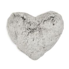 Heart Fur Scatter Cushion - something to cuddle in front of the tv