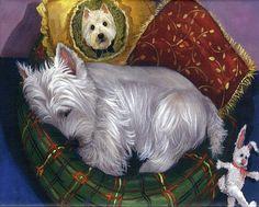 Suzanne Renaud painting