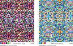 Textile Design by Heloisa Etelvina, via Behance