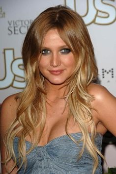 I think I want these two hair colors... but not ombre.  Just lowlights and highlights.