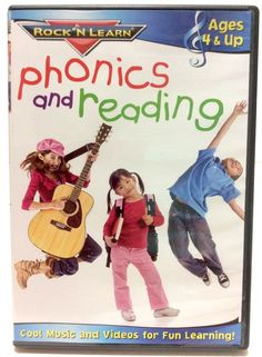 Rock 'N Learn: Phonics and Reading DVD 2010 Ages 4 & up homeschool teacher