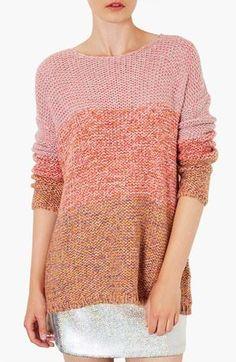 Cute! Topshop Ombré Sweater