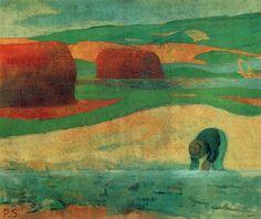Seaweed gatherer (Paul Serusier - ) 1890
