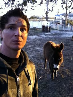 Ghost Adventures: Zak and Spirit the donkey