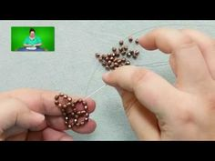 Stitches: Flat Right-Angle Weave with Multiple Beads per Side - YouTube