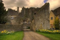 Beverston Castle England was originally a well fortified fortress. It was the location of an important battle between the opposing English armies of King Stephen and Empress Matilda in 1140 AD.
