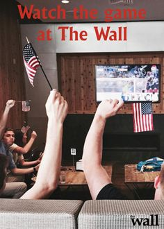 Hang out at the lounge at The Wall and watch the game or eat some good grub.