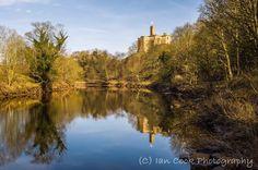 Warkworth Castle Northumberland.
