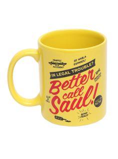 Breaking Bad Better Call Saul Mug | Hot Topic