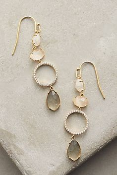 Add a statement to your look with earrings from Anthropologie. Discover our collection of unique hoop, drop, chandelier, cluster and post earrings for women. Cute Jewelry, Jewelry Box, Jewelry Accessories, Fashion Accessories, Jewelry Design, Fashion Jewelry, Women Jewelry, Jewelry Making, Jewellery