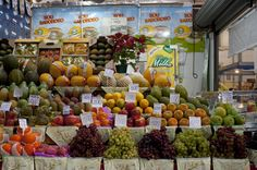 Mercado Municipal de São Paulo frutas