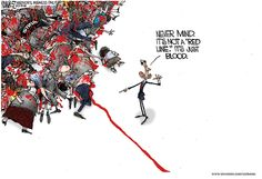 Bloody Red Syrian Line 8.31.13