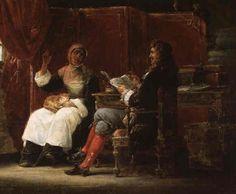 Moliere consultant sa servante 1819